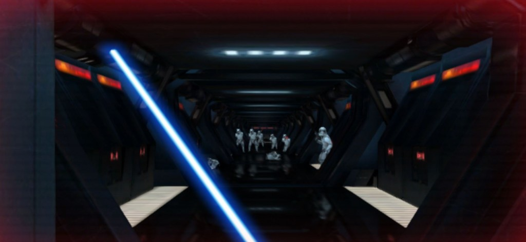 Lightsaber Escape Screenshot