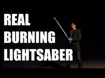 Real Lightsaber