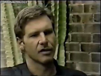 Harrison Ford talks Return of the Jedi